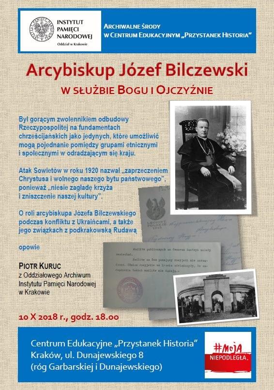 """""""Archiwalna środa"""" w Centrum Edukacyjnym """"Przystanek Historia"""" IPN w Krakowie 10 października 2018 /IPN"""