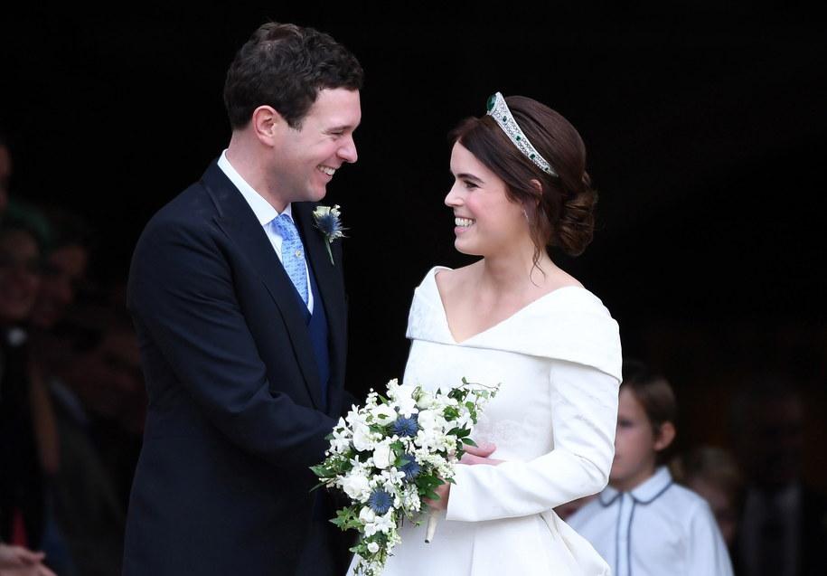 Archiwalne zdjęcia ze ślubu księżniczki z Jackiem Brooksbankiem /NEIL HALL /PAP/EPA