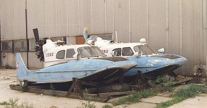 Archiwalne zdjęcie dwóch węgierskich egzemplarzy Tupolewa A-3 /materiały prasowe
