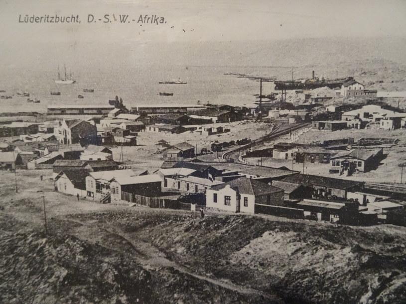 Archiwalne zdjęcie Lüderitz /materiały prasowe