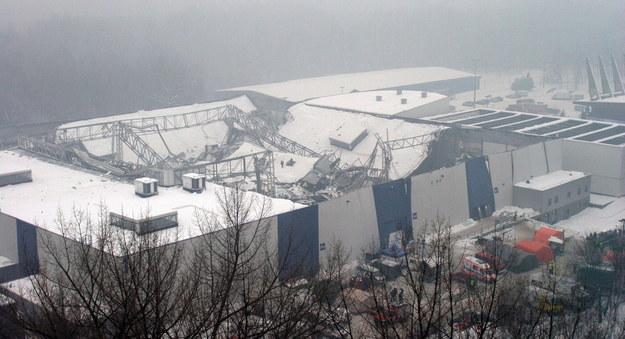 Archiwalne zdjęcie z miejsca katastrofy / Andrzej Grygiel /PAP