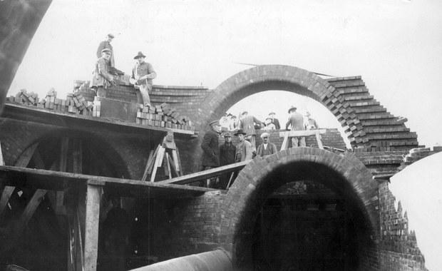 Archiwalny film z początków budowy łódzkich kanałów znaleziono w USA