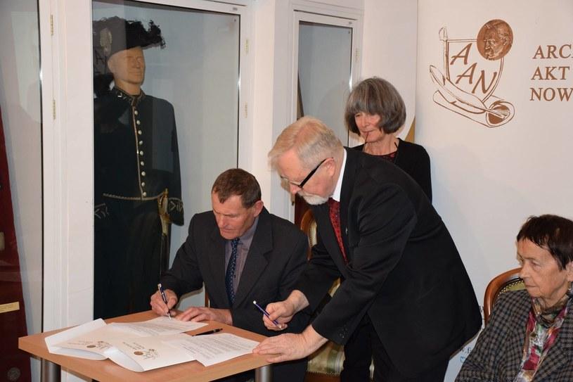 Archiwum Adama Borysa zawiera materiały dotyczące przeprowadzonych przez Parasol akcji likwidacyjnych /Archiwum Akt Nowych