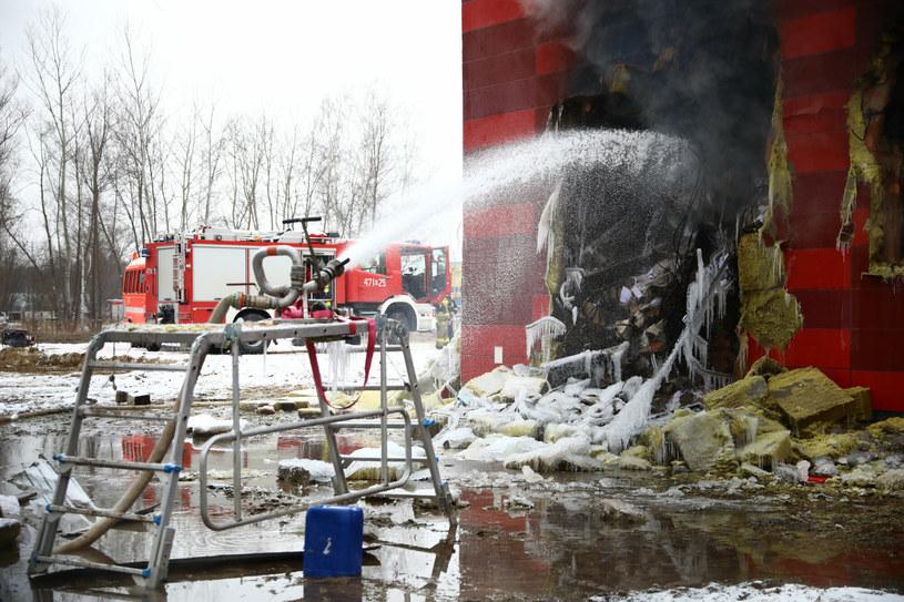 Archiwum Urzędu Miasta Krakowa, w którym przez kilka dni trwał pożar /Beata Zawrzel/REPORTER /Reporter