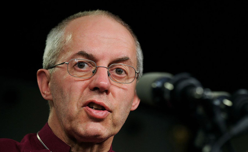 Arcybiskup Canterbury Justin Welby. /AFP