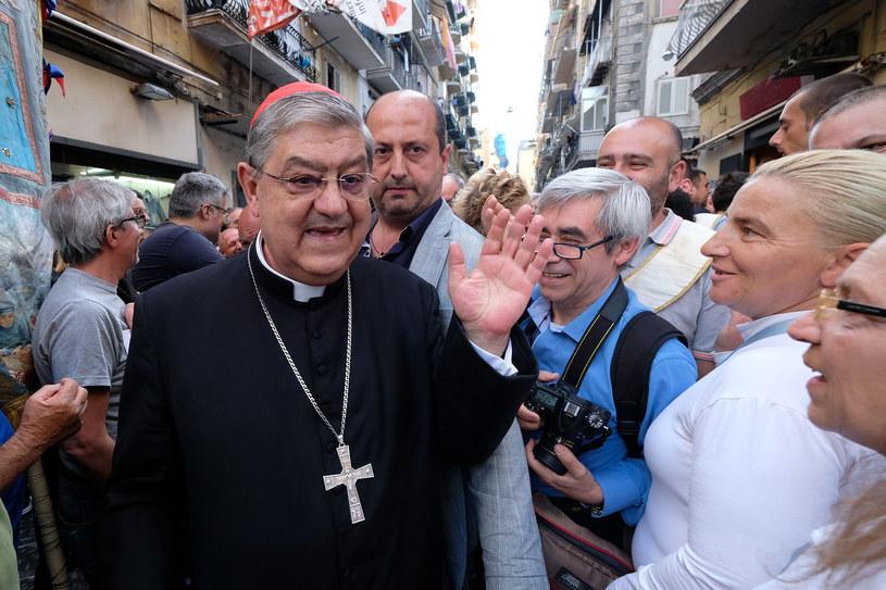 Arcybiskup Crescenzio Sepe /AFP
