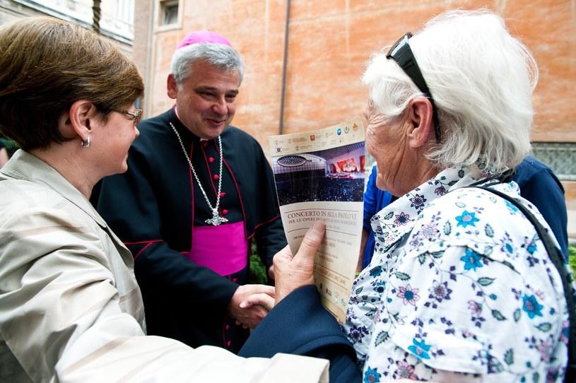 Arcybiskup Konrad Krajewski /CPP / Polaris /East News