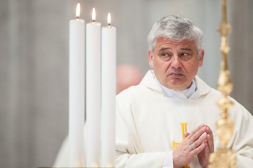 Arcybiskup Konrad Krajewski /Massimigliano Migliorato /East News