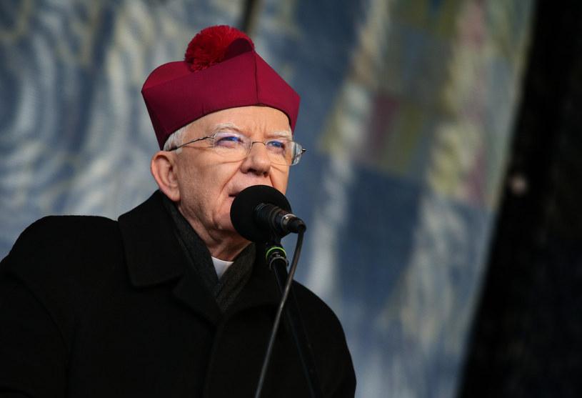 Arcybiskup Marek Jędraszewski: Coś pęka w naszym społeczeństwie. Dzieje się coś bardzo niedobrego /Damian Klamka /East News