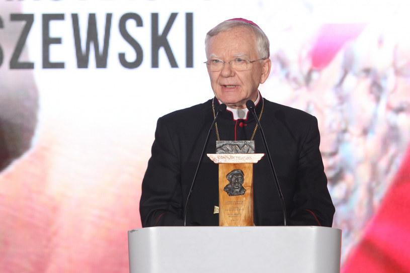 Arcybiskup Marek Jędraszewski podczas gali /Tomasz Jastrzebowski/REPORTER /Reporter