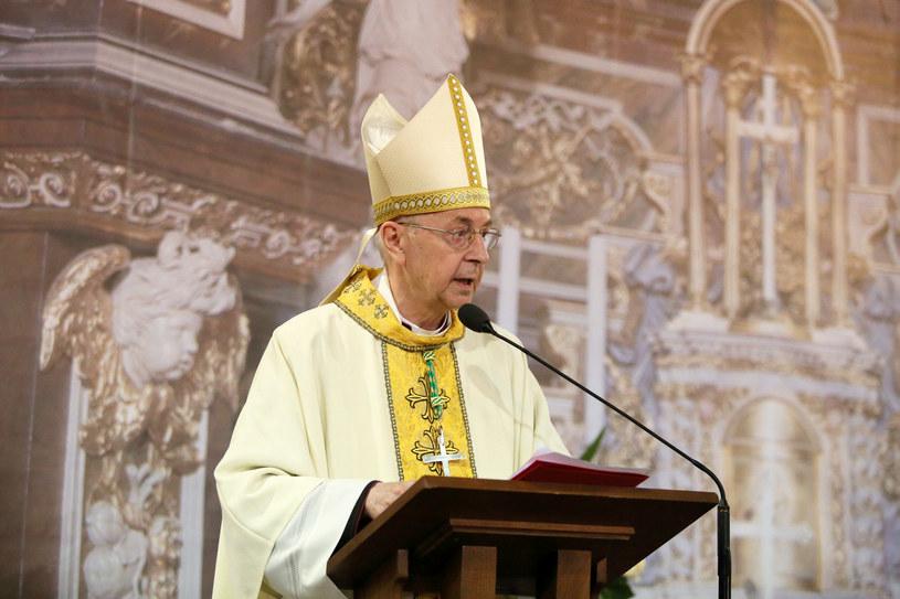 Arcybiskup metropolita poznański Stanisław Gądecki /Piotr Małecki /East News