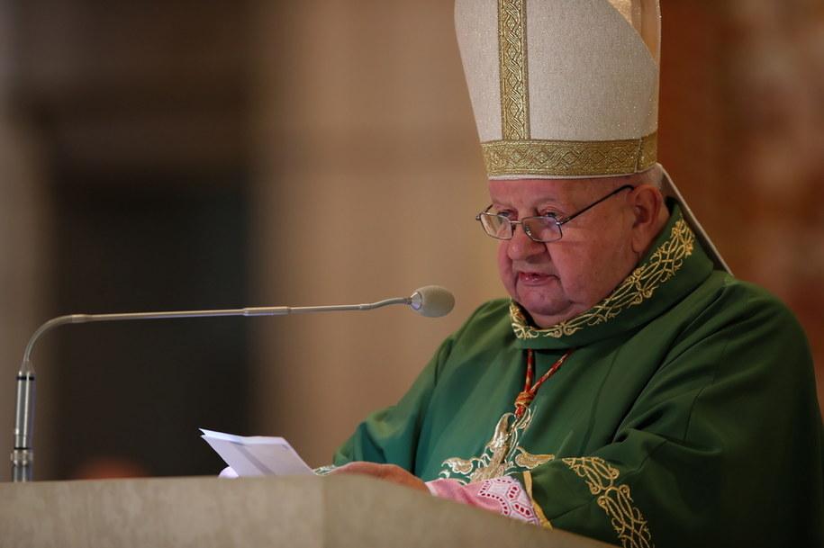 Arcybiskup senior archidiecezji krakowskiej kard. Stanisław Dziwisz //Łukasz Gągulski /PAP