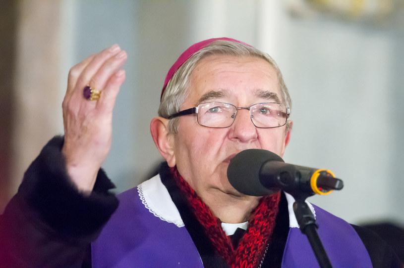 Arcybiskup Sławoj Leszek Głódź: Akceptacji bożka tolerancji zawiera akceptację wobec największych wynaturzeń /Wojciech Stróżyk /Reporter