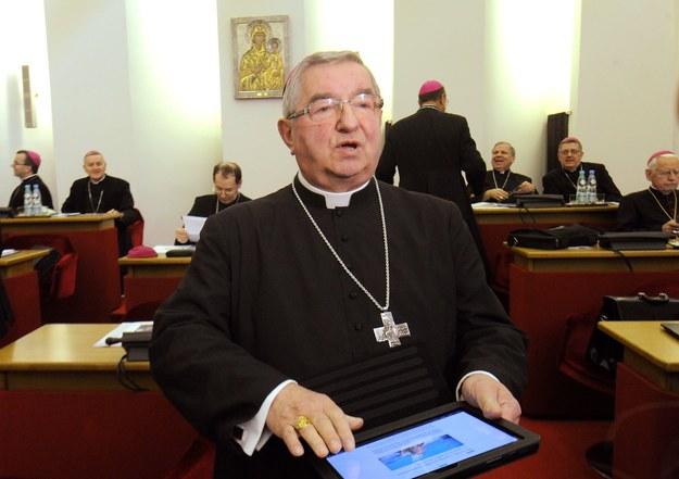 Arcybiskup Sławoj Leszek Głódź ciężko chory
