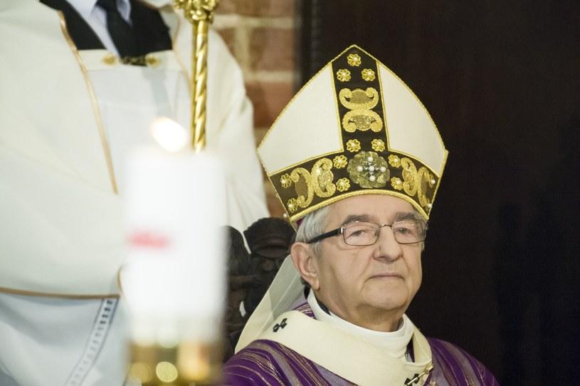 Arcybiskup Sławoj Leszek Głódź /Wojciech Stóżyk /Reporter