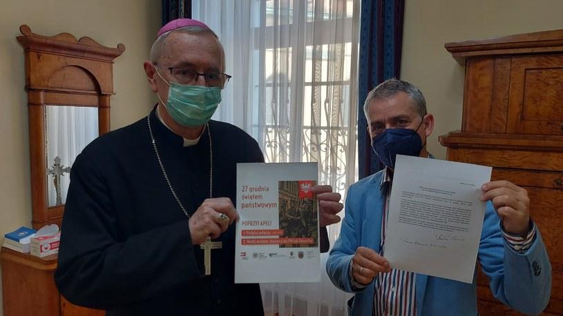 Arcybiskup Stanisław Gądecki poparł ustanowienie 27 grudnia świętem państwowym /ArchPoznań /Twitter