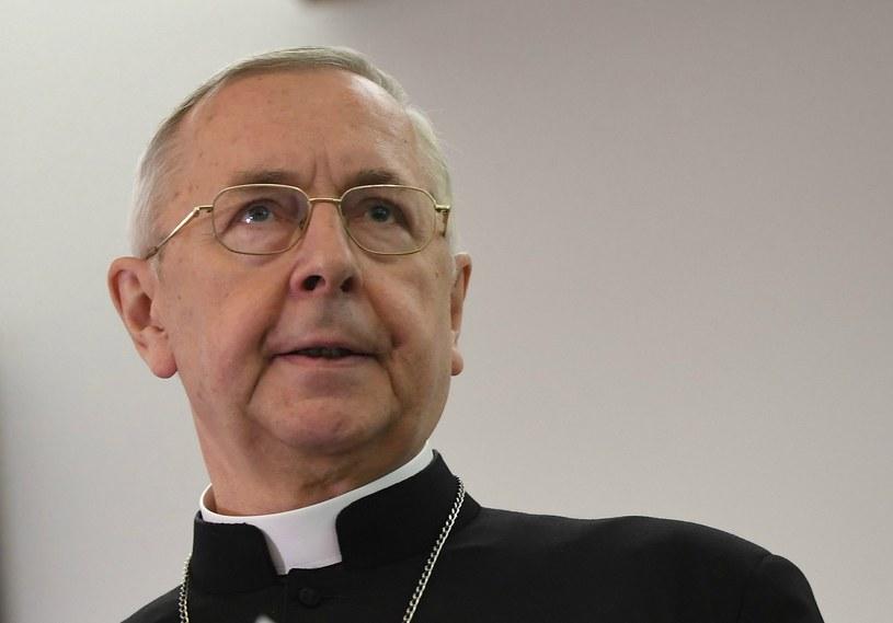 Arcybiskup Stanisław Gądecki /BARTLOMIEJ ZBOROWSKI /PAP