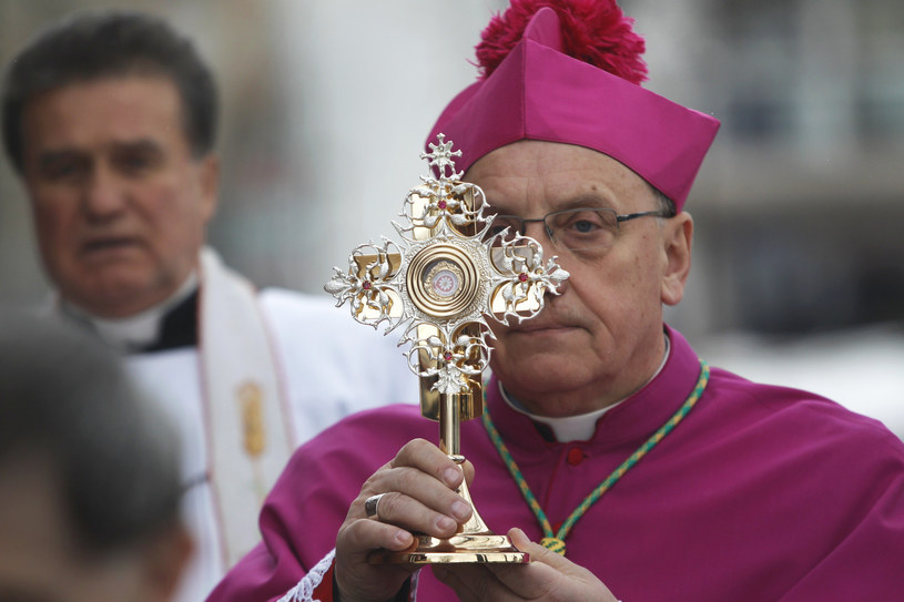 Arcybiskup Tadeusz Kondrusiewicz /AP Photo/Sergei Grits /East News