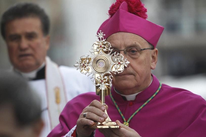Arcybiskup Tadeusz Kondrusiewicz /Sergei Grits/AP /East News