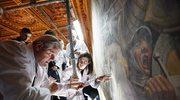 Arcydzieło da Vinci przez 500 lat ukryte za freskiem?