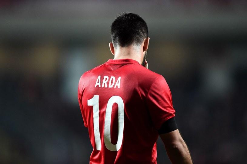 Arda Turan to największa gwiazda reprezentacji Turcji /AFP