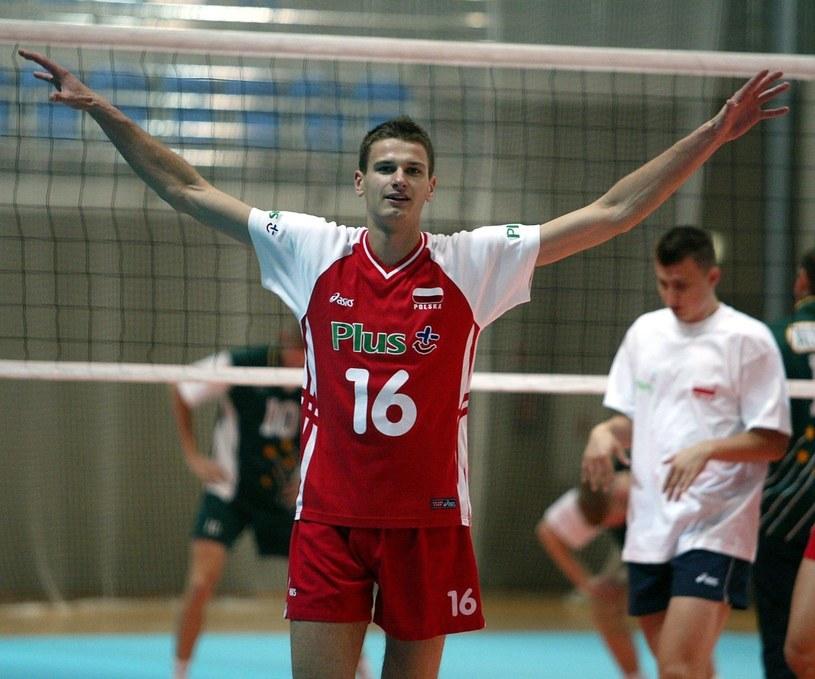 Arek Gołaś był jednym z najzdolniejszych polskich siatkarzy /Piotr Gajek /East News