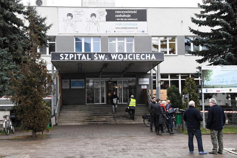 Areszt dla Krzysztofa Sz., podejrzanego m.in. o zabójstwo pacjenta w szpitalu na Zaspie /Marcin Gadomski /PAP