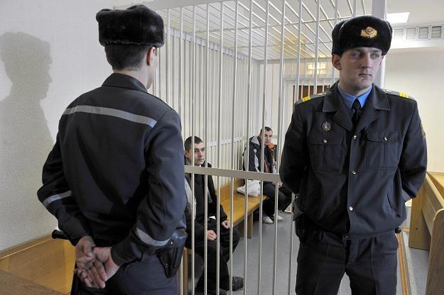 Areszt w Mińsku /AFP