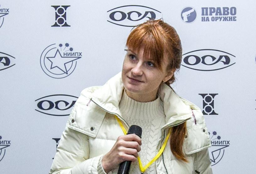 Aresztowana pod zarzutem szpiegostwa Maria Butina ponoć marznie w celi /AFP