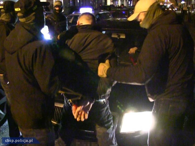 Aresztowanie Cezarego P. - materiały policyjne /cbsp.policja.pl / /materiał zewnętrzny