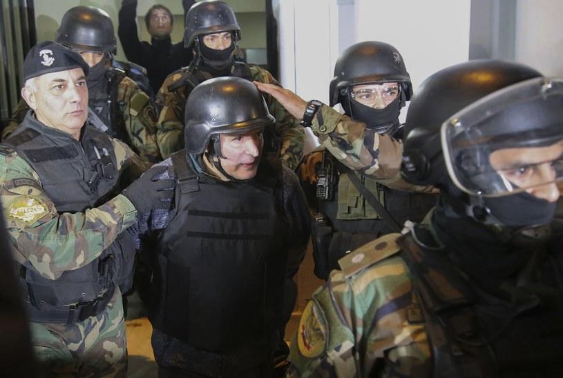 Aresztowanie polityka, fot. AFP/EAST NEWS /