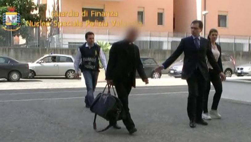 Aresztowany prałat /AFP