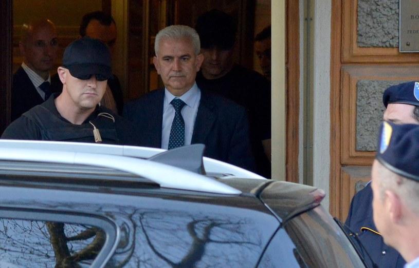 Aresztowany prezydent Federacji Muzułmańsko-Chorwackiej /AFP