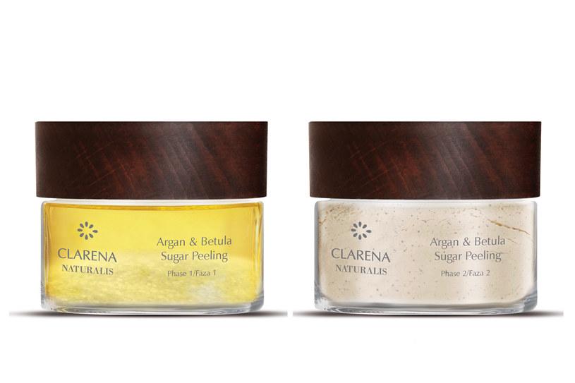 Argan & Betula Sugar Peeling, Clarena Naturalis /materiały prasowe