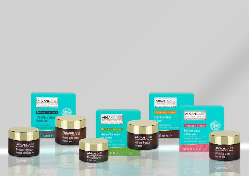 Arganicare: Kosmetyki do pielęgnacji twarzy /materiały prasowe