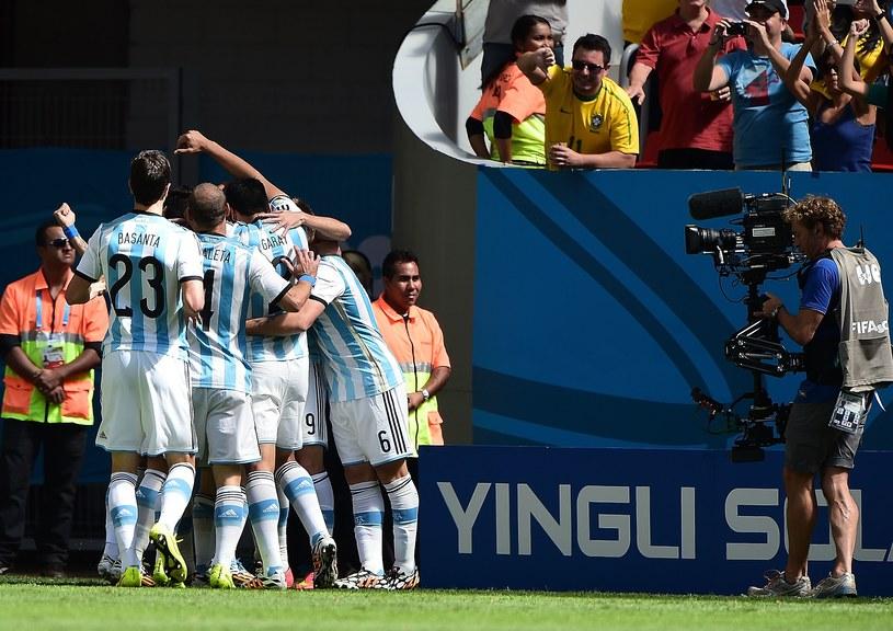 Argentyna - faworyt do mistrzowskiego tytułu /AFP