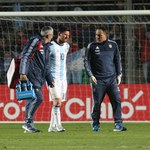 Argentyna - Honduras 1-0, kontuzja Lionela Messiego