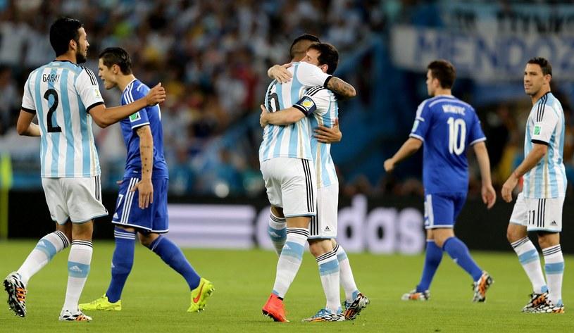 Argentyna nie zachwyciła, ale wygrała z Bośnią i Hercegowiną 2-1 /PAP/EPA