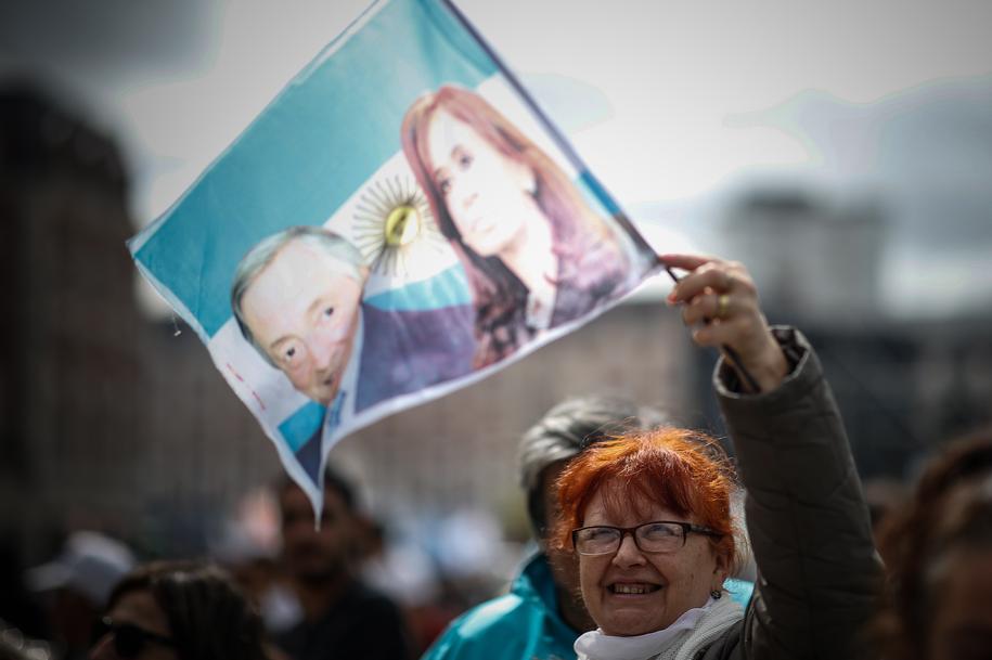 Argentyna, ogarnięta kryzysem, będzie w niedzielę wybierać prezydenta /JUAN IGNACIO RONCORONI /PAP/EPA