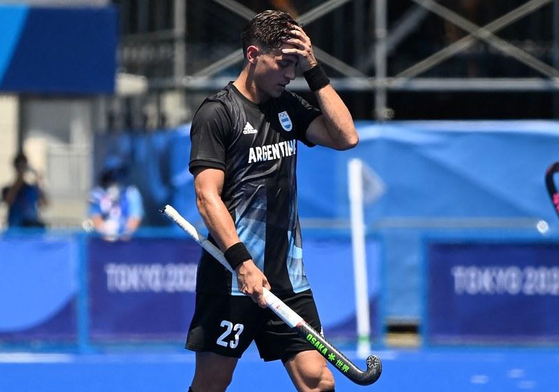 Argentyna w turnieju hokeja na trawie. Tokio 2020 /CHARLY TRIBALLEAU  /AFP