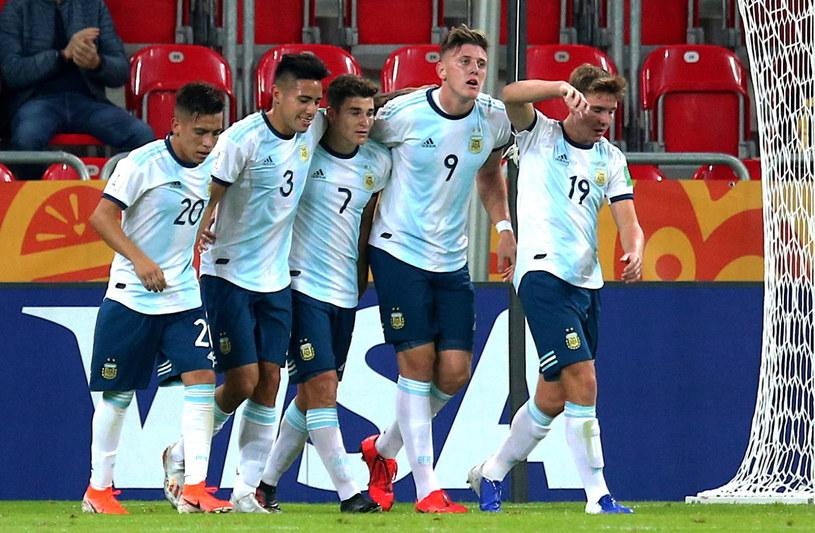 Argentyna wysoko pokonała RPA / Andrzej Grygiel /PAP