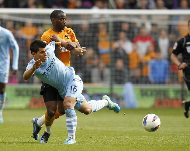 Argentyńczyk Sergio Aguero, piłkarz Manchesteru City /AFP