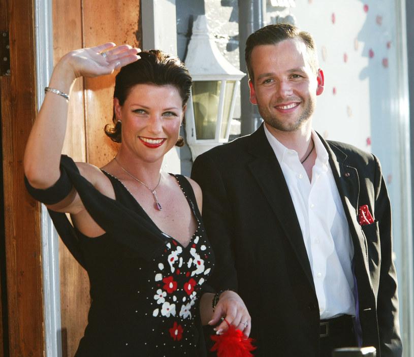 Ari Behn i księżniczka Maria Ludwika w 2002 roku, dwa dni przed ślubem / Michel Porro /Getty Images