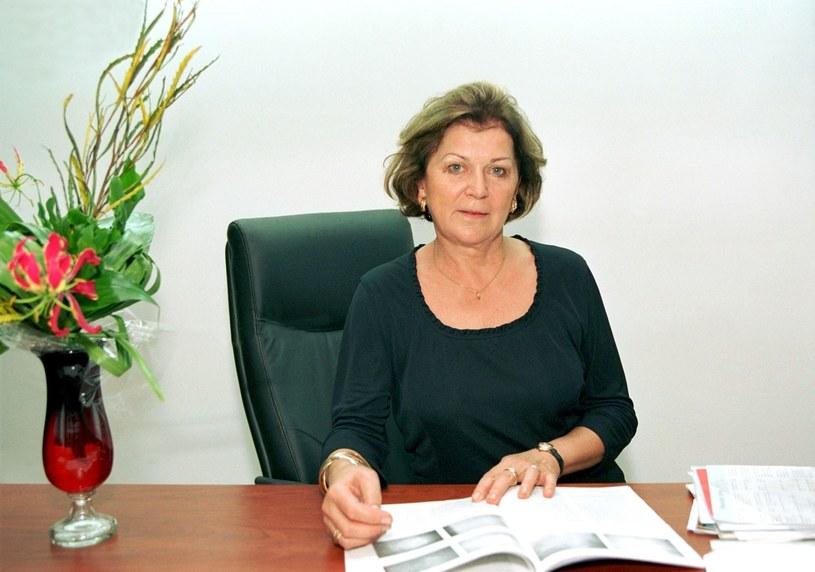Ariadna Gierek, 2001 r. /Czesław Czapliński/FOTONOVA /East News