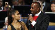 Ariana Grande obmacywana na pogrzebie Arethy Franklin. Biskup przeprasza