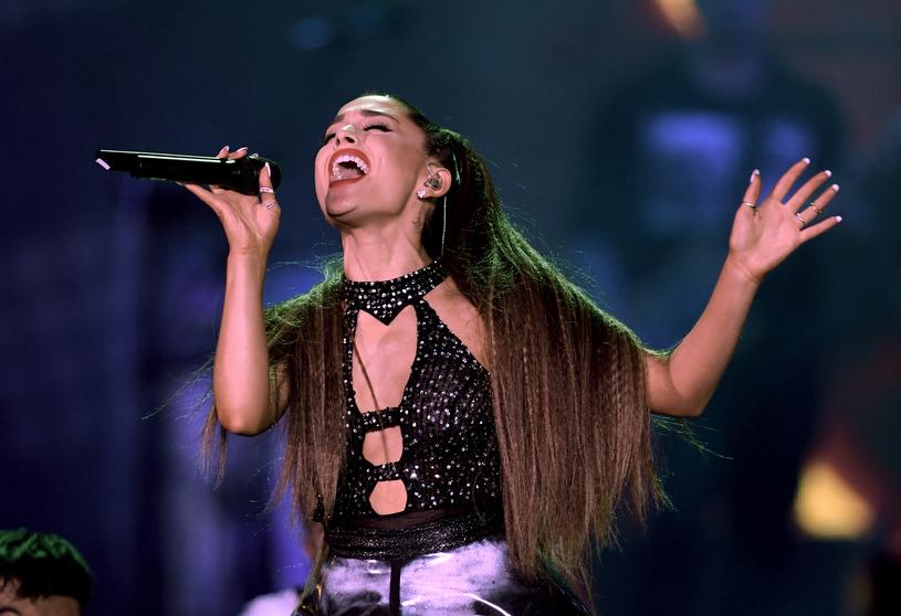 Ariana Grande promuje czwartą płytę /Kevin Winter /Getty Images