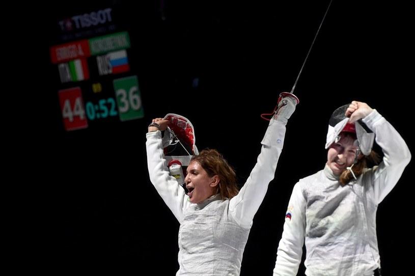 Arianna Errigo (z lewej) /AFP