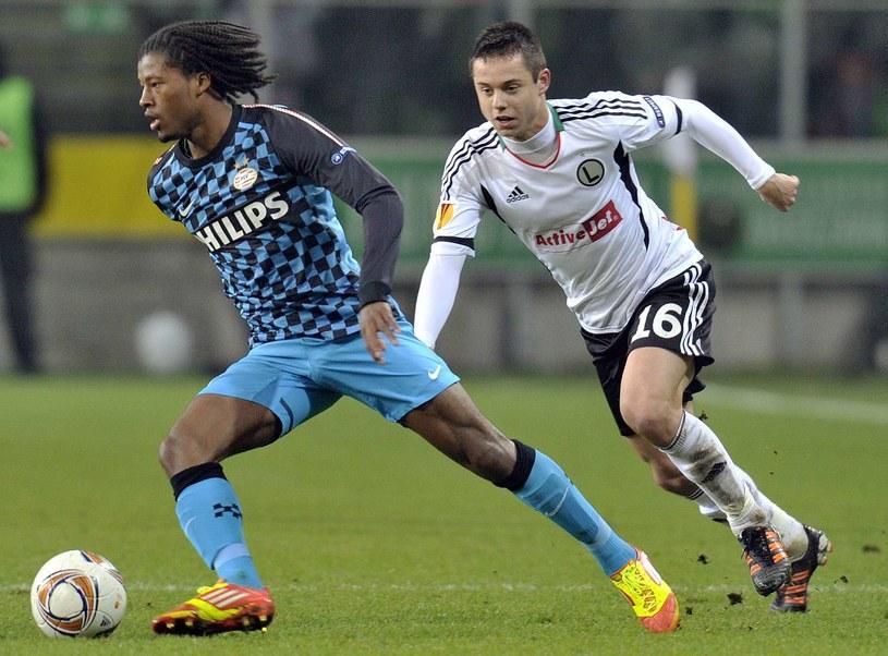 Ariel Borysiuk wraca do ekstraklasy, do Niemiec wyjechał po grze w Legii /AFP