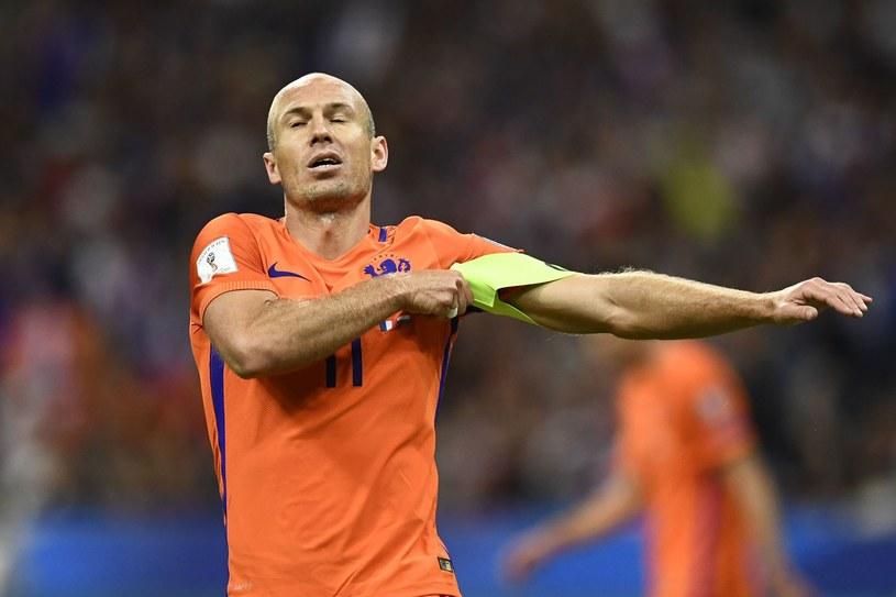 Arjen Robben doczeka się wielkich następców w reprezentacji Holandii? /AFP