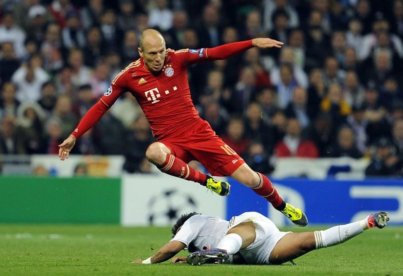 Arjen Robben, gwiazda Bayernu Monachium /AFP
